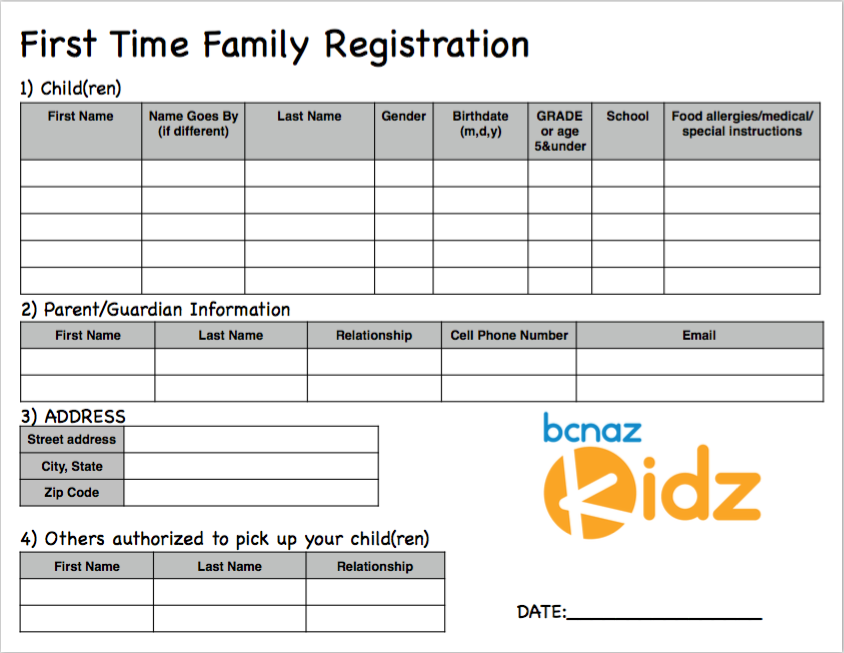 family-registration